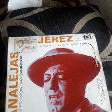 Discos de vinilo: ANTIGUO VINILO, CANALEJAS DE JEREZ, A ESTRENAR. Lote 252485200