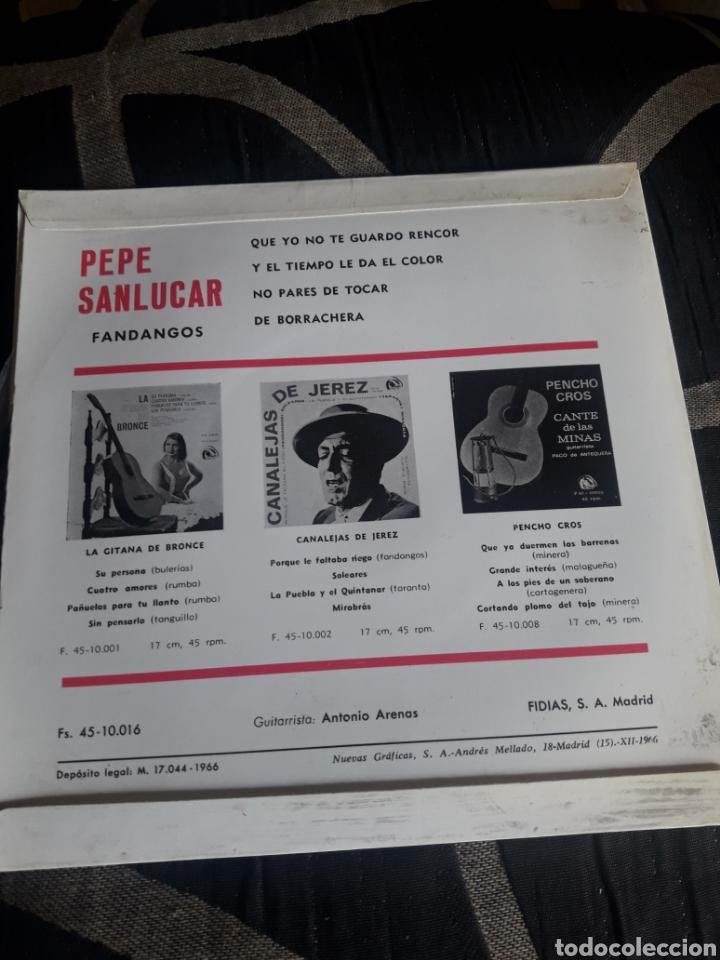 Discos de vinilo: Antiguo vinilo, Pepe Sanlucar, Fandangos, a estrenar - Foto 2 - 252485560