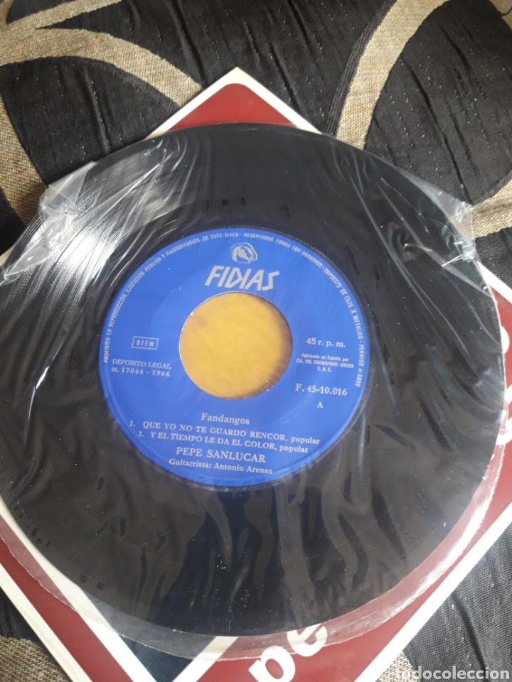 Discos de vinilo: Antiguo vinilo, Pepe Sanlucar, Fandangos, a estrenar - Foto 3 - 252485560
