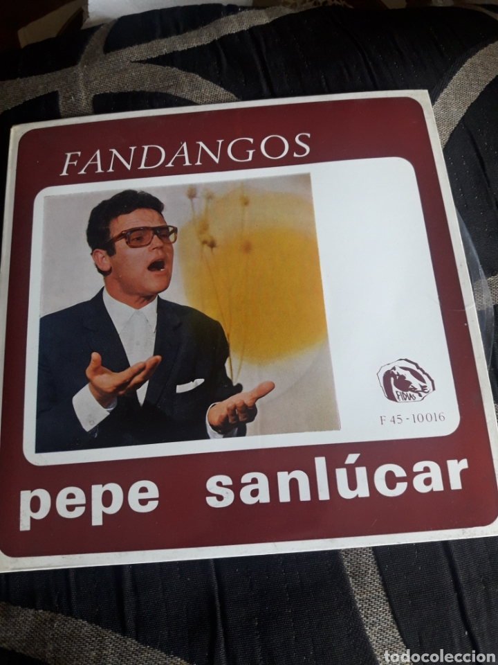 ANTIGUO VINILO, PEPE SANLUCAR, FANDANGOS, A ESTRENAR (Música - Discos de Vinilo - Maxi Singles - Flamenco, Canción española y Cuplé)