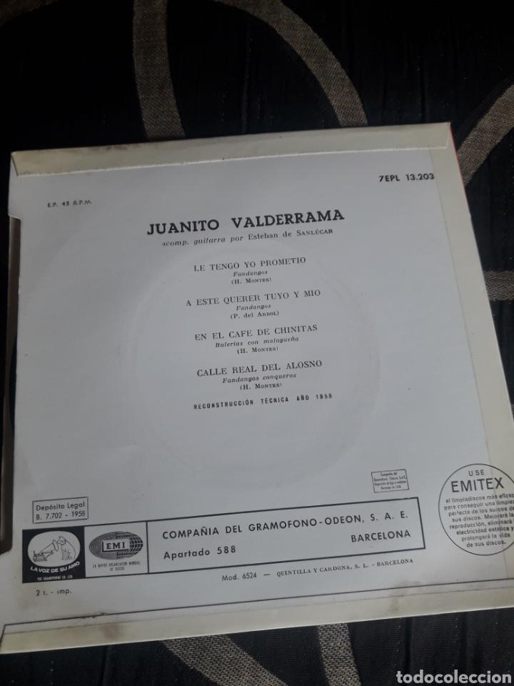 Discos de vinilo: Antiguo vinilo, El cante de Juanito Valderrama, a estrenar - Foto 2 - 252486185