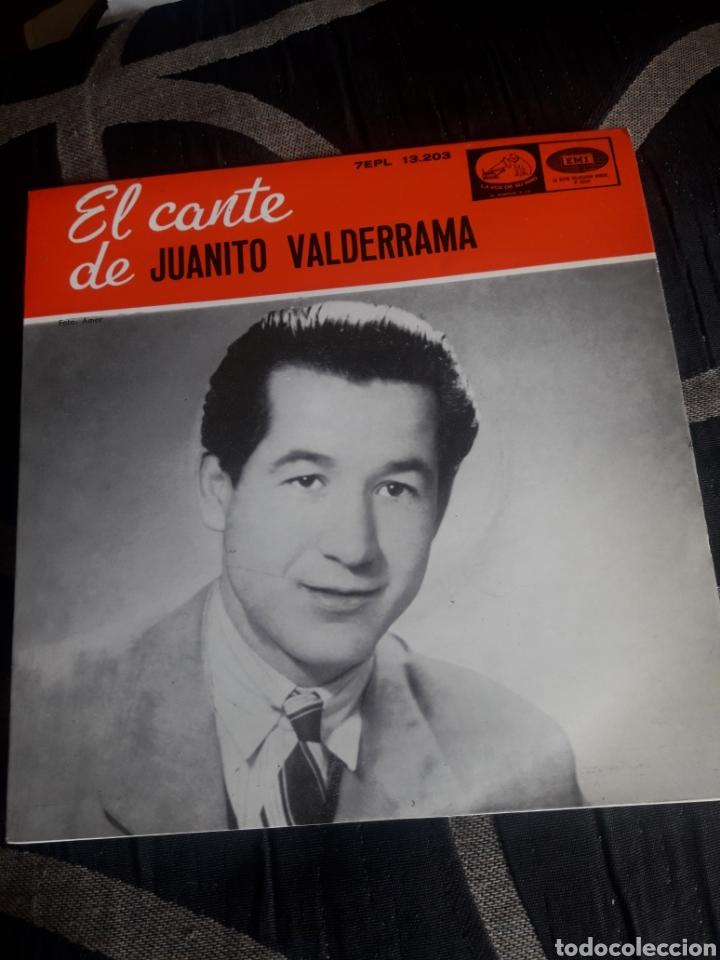 ANTIGUO VINILO, EL CANTE DE JUANITO VALDERRAMA, A ESTRENAR (Música - Discos de Vinilo - Maxi Singles - Flamenco, Canción española y Cuplé)