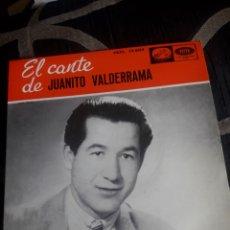 Discos de vinilo: ANTIGUO VINILO, EL CANTE DE JUANITO VALDERRAMA, A ESTRENAR. Lote 252486185