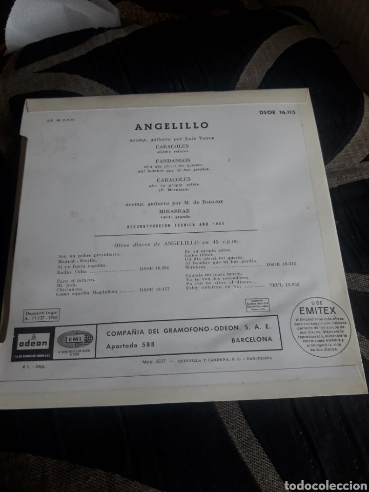 Discos de vinilo: Antiguo vinilo, Así canta Angelillo, a estrenar - Foto 2 - 252486505
