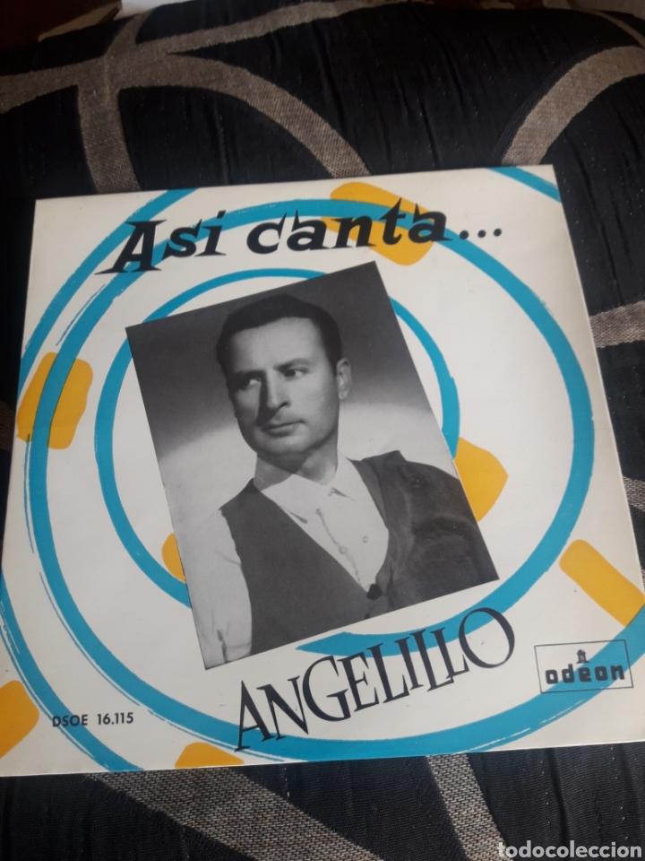 ANTIGUO VINILO, ASÍ CANTA ANGELILLO, A ESTRENAR (Música - Discos de Vinilo - Maxi Singles - Flamenco, Canción española y Cuplé)