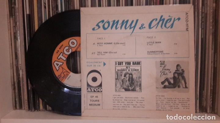Discos de vinilo: SONNY & CHER - LITTLE MAN - Foto 2 - 252498015