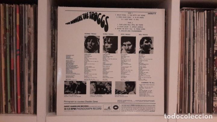 Discos de vinilo: TROGGS - FROM NOWHERE - Foto 2 - 252501205