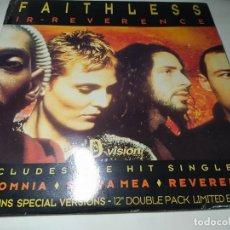 Disques de vinyle: LP - FAITHLESS – IR-REVERENCE - DVDM 183 - LIMITED 2LP (VG+ / VG+) ITALY 1997. Lote 252517150
