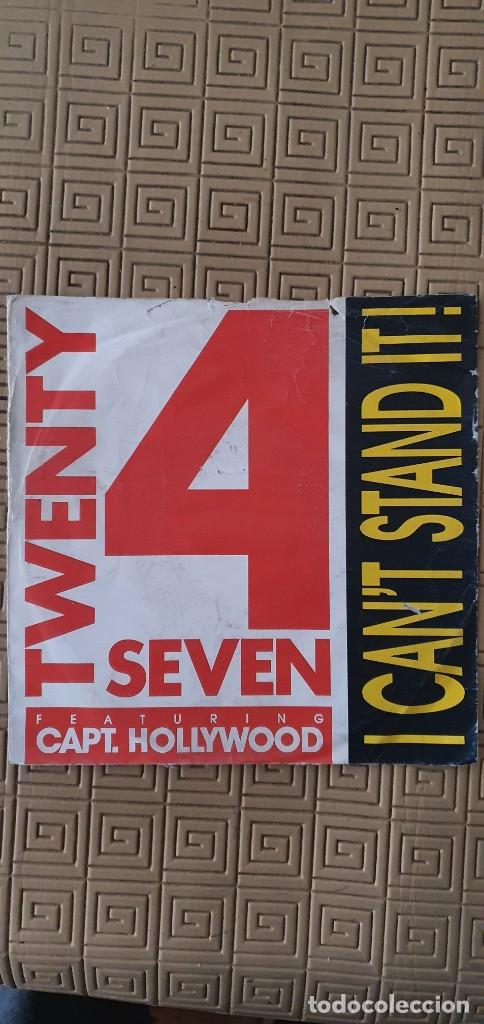 TWENTY 4 SEVEN FEATURING CAPT. HOLLYWOOD* ‎– I CAN'T STAND IT! LABEL: BCM RECORDS ‎– 879 038-7, BCM (Música - Discos - Singles Vinilo - Techno, Trance y House)