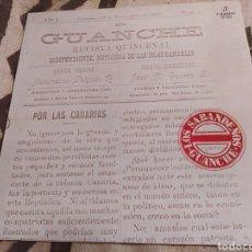 Discos de vinilo: LOS SABANDEÑOS. GUANCHE. LP VINILO BUEN ESTADO.. Lote 252535535