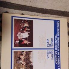 Discos de vinilo: ASOCIACIÓN PROVINCIAL DE COROS Y DANZAS FRANCISCO SALZILLO. YECLA - CIEZA. LP VINILO PERFECTO ESTADO. Lote 252538450