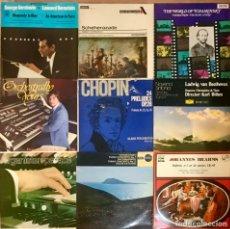 Discos de vinilo: LOTE 30 DISCOS VINILO MUSICA CLASICA MOZART BEETHOVEN BRAHMS TCHAIKOVSKY CHOPIN SINFONIA CONCIERTO. Lote 252538660