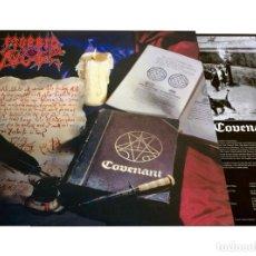 Discos de vinilo: V1629 - MORBID ANGEL. COVENANT. LP VINILO. COMO NUEVO. Lote 252556155