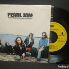Discos de vinilo: PEARL JAM ALIVE (LIVE) - EN CONCIERTO SINGLE SPAIN 1992 PEPETO TOP. Lote 252562915