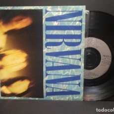 Discos de vinilo: NIRVANA SMELLS LIKE TEEN SPIRIT SINGLE UK 1991 PEPETO TOP. Lote 252563715