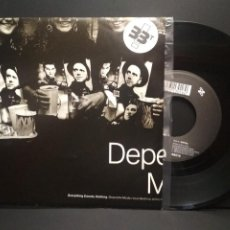 Discos de vinilo: DEPECHE MODE EVERYTHING COUNTS SINGLE BELGICA 1989 PEPETO TOP. Lote 252565860