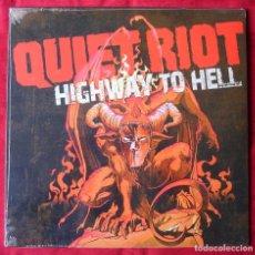 Discos de vinilo: QUIET RIOT - HIGHWAY TO HELL. LP VINILO. NUEVO. PRECINTADO.. Lote 252566915