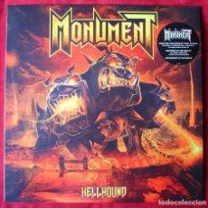 Discos de vinilo: MONUMENT - HELLHOUND. LP VINILO. NUEVO. PRECINTADO.. Lote 252568385