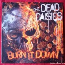 Discos de vinilo: THE DEAD DAISIES - BURN IT DOWN. LP VINILO + CD. NUEVO. PRECINTADO. VINILO ROJO.. Lote 252569920