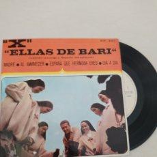 Discos de vinilo: ELLAS DE BARI- FRANCISCO MORALEDA-MADRE-+3- EP SPAIN. Lote 252591440