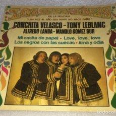 Disques de vinyle: EP LOS HIPPY-LOYAS ( DE LA PELICULA UNA VEZ AL AÑO SER HIPPY NO HACE DAÑO ) -PEDIDOS MINIMO 7€. Lote 252630450