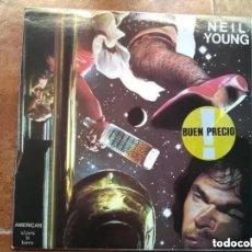 Discos de vinilo: NEIL YOUNG - AMERICAN STARS N BARS (LP) 1984. Lote 252633130