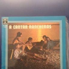 Dischi in vinile: DISCO LP LOS CHARRASQUEADOS A CANTAR RANCHERAS. Lote 252639820