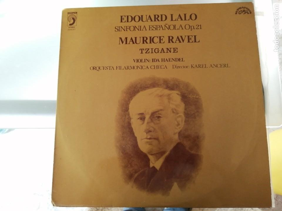 EDUARDO LALO - SINFONIA ESPAÑOLA OP. 21 (Música - Discos - LP Vinilo - Clásica, Ópera, Zarzuela y Marchas)