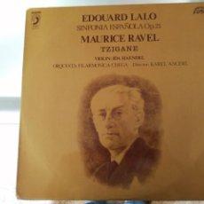 Discos de vinilo: EDUARDO LALO - SINFONIA ESPAÑOLA OP. 21. Lote 252659780