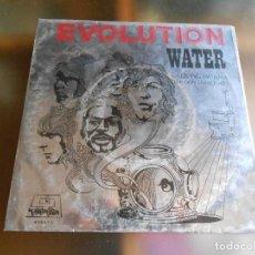 Discos de vinilo: EVOLUTION, SG, WATER + 1, AÑO 1970 PROMO. Lote 252662130