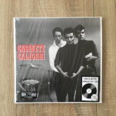 Discos de vinilo: VINILO 10'+CD GABINETE CALIGARI CUATRO ROSAS. Lote 252664225