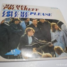 Discos de vinilo: SINGLE MICHEL POLNAREFF. LOVE ME PLEASE LOVE ME. AMARTE. CON UN PUNTAPIÉ. HISPAVOX 1966 (BUEN ESTADO. Lote 252664315