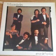 Discos de vinilo: *** MOCEDADES - AMOR DE HOMBRE - LP AÑO 1982 - DOBLE PORTADA - LEER DESCRIPCIÓN. Lote 252665805