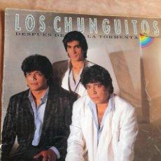 Disques de vinyle: LOS CHUNGUITOS. DESPUES DE LA TORMETA. LP EMI 1986. Lote 252673485