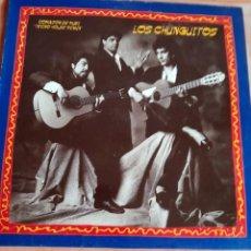 Disques de vinyle: LOS CHUNGUITOS. CORAZON DE RUBI. LP 1990. Lote 252679405
