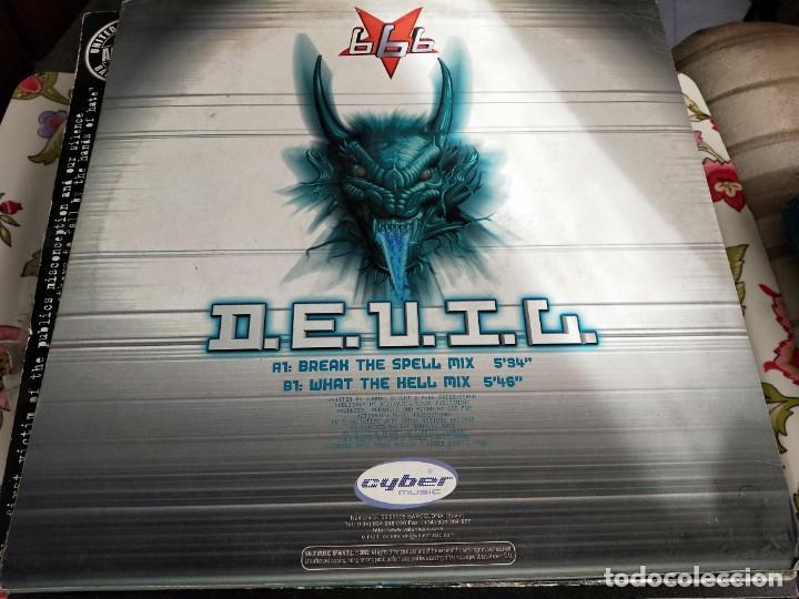"Discos de vinilo: 666 - D.E.V.I.L (12"") Sello:Cyber Music Cat. nº: VLMX 232-3. VG+ / VG+ - Foto 2 - 252684050"