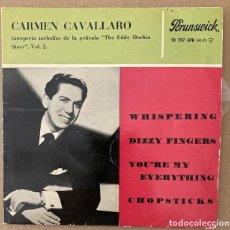 Discos de vinilo: CARMEN CAVALLARO - THE EDDY DUCHIN STORY. Lote 252685050