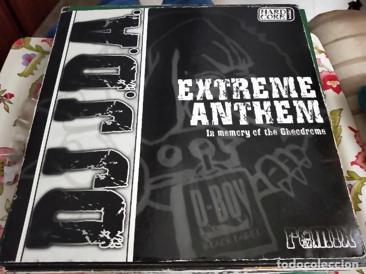 "DJ JDA* - EXTREME ANTHEM (12"") SELLO:D-BOY BLACK LABEL CAT. Nº: SORL-DB 125. VG / VG+ (Música - Discos de Vinilo - Maxi Singles - Punk - Hard Core)"