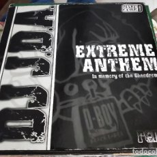 "Discos de vinilo: DJ JDA* - EXTREME ANTHEM (12"") SELLO:D-BOY BLACK LABEL CAT. Nº: SORL-DB 125. VG / VG+. Lote 252685240"