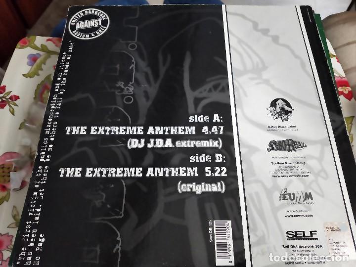 "Discos de vinilo: DJ JDA* - Extreme Anthem (12"") Sello:D-Boy Black Label Cat. nº: Sorl-DB 125. VG / VG+ - Foto 2 - 252685240"