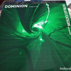 "Discos de vinilo: OUTBLAST & CATSCAN / DOMINION -STAMPGEVAAR / REIGN OF FIRE (12"") THE THIRD MOVEMENT VG++ / NEAR MINT. Lote 252686765"