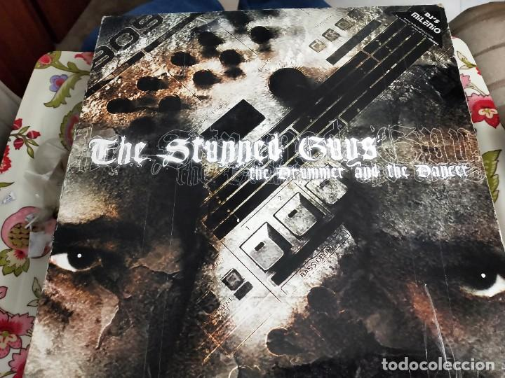 "THE STUNNED GUYS - THE DRUMMER AND THE DANCER (12"") TRAXTORM RECORDS TRAX 0042. VG+ / VG (Música - Discos de Vinilo - Maxi Singles - Punk - Hard Core)"