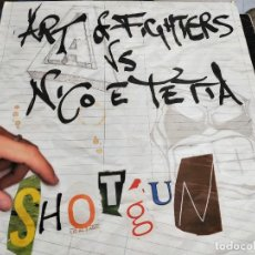 "Discos de vinilo: ART OF FIGHTERS VS. NICO E TETTA - SHOTGUN (12"") SELLO:TRAXTORM RECORDS TRAX 0031. VG / VG+. Lote 252699485"