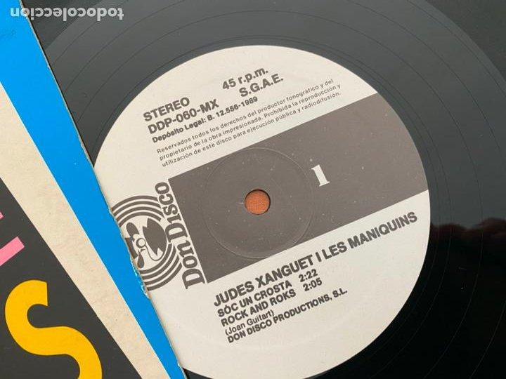 Discos de vinilo: JUDES XANGUET I LES MANIQUINS MAXI ESPAÑA 1989 (B-26) - Foto 2 - 252699635