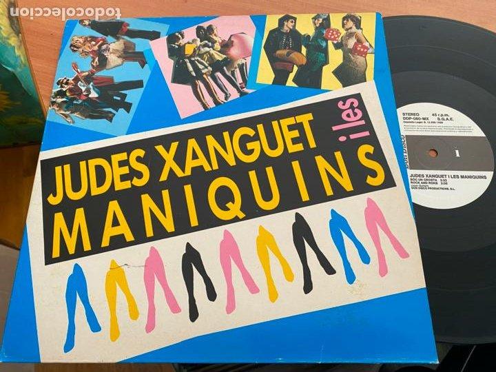 JUDES XANGUET I LES MANIQUINS MAXI ESPAÑA 1989 (B-26) (Música - Discos de Vinilo - Maxi Singles - Jazz, Jazz-Rock, Blues y R&B)