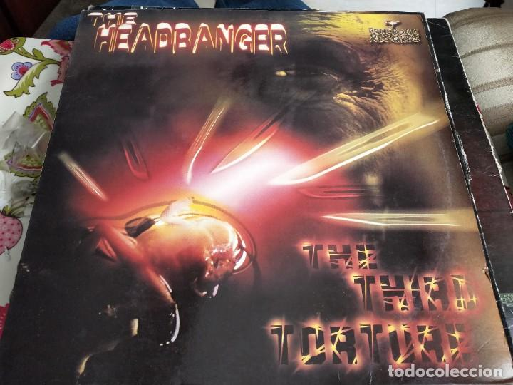 "THE HEADBANGER - THE THIRD TORTURE (12"") SELLO:PN RECORDS CAT. Nº: PNMX 47. VG / VG+ (Música - Discos de Vinilo - Maxi Singles - Punk - Hard Core)"