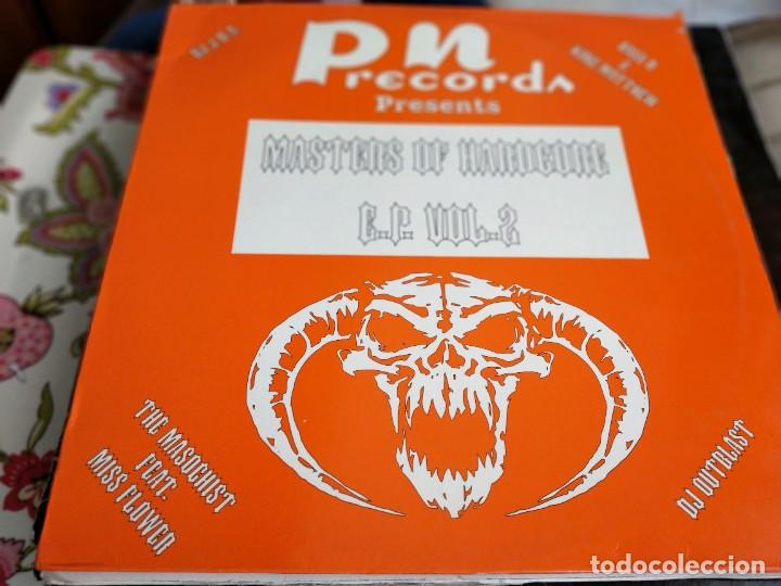 "VARIOUS - MASTERS OF HARDCORE E.P. VOL. 2 (12"", EP) SELLO:PN RECORDS CAT. Nº: PNMX 77 (N). VG+ / VG+ (Música - Discos de Vinilo - Maxi Singles - Punk - Hard Core)"