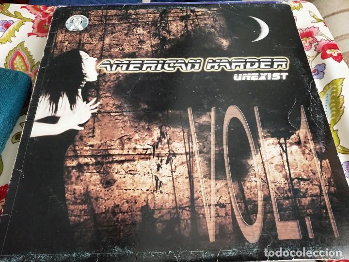 """AMERICAN HARDER - UNEXIST - VOL. 1 (12"""") SELLO:X SERIES CAT.Nº X 002. BUEN ESTADO NEAR MINT / VG (Música - Discos de Vinilo - Maxi Singles - Punk - Hard Core)"""