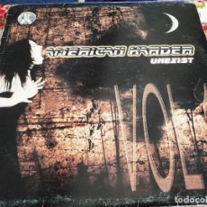 "Discos de vinilo: AMERICAN HARDER - UNEXIST - VOL. 1 (12"") SELLO:X SERIES CAT.Nº X 002. BUEN ESTADO NEAR MINT / VG. Lote 252707585"