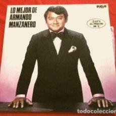 Discos de vinilo: LO MEJOR DE ARMANDO MANZANERO (LP.2 1976) 26 EXITOS (RCA) ESTA TARDE VI LLOVER, ADORO, ESPERARÉ, .... Lote 252709745